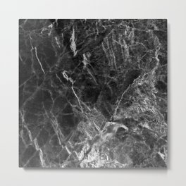 Ombre Marble Metal Print