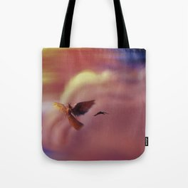 Into the Headwinds Tote Bag