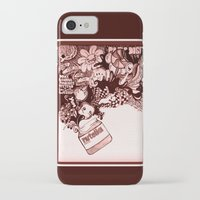 nutella iPhone & iPod Cases featuring nutella  by Kim Rose