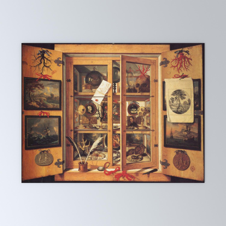 Cabinet Of Curiosities Mini Art Print By Bluespecsstudio