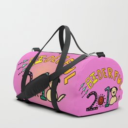 2018 Wang-derful Dog Doodles Duffle Bag