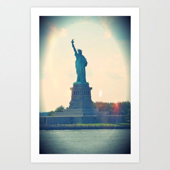 State of Liberty Art Print
