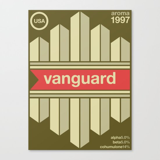 vanguard single hop Canvas Print