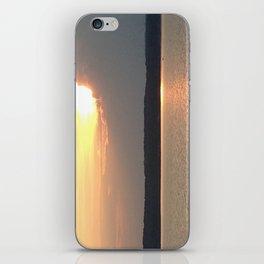 Calm evening iPhone Skin