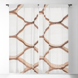 Chicago Honeycomb - Abstract Photography Blackout Curtain