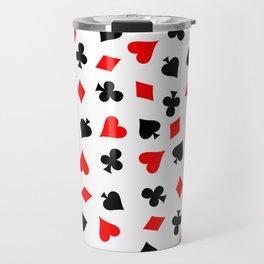 Card Suits 02 Travel Mug