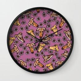 Greyhounds Wall Clock