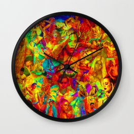 MaYhEmIc Miscellania: ZUMALOOM 21 Wall Clock