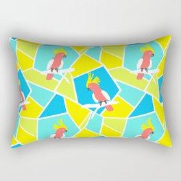 Bright Cockatoo Rectangular Pillow