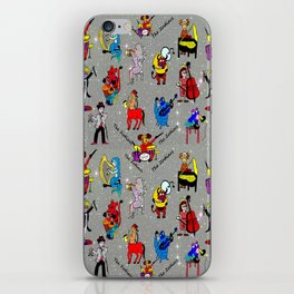 THE ZODIACS MUSIC ORCHESTRA iPhone Skin