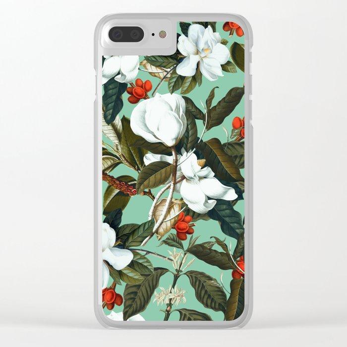 Summer Garden VI Clear iPhone Case