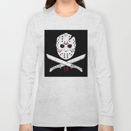 Jason mask Long Sleeve T-shirt