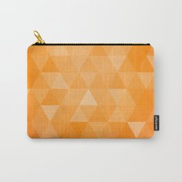 geometric 00 orange Carry-All Pouch