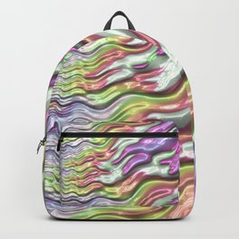 Colorful Waves Backpack