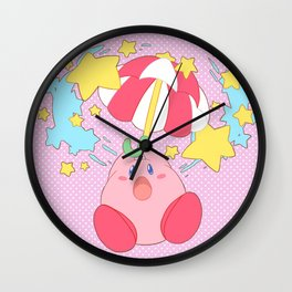 kirbo super duper Wall Clock