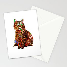 McKenna in the Abstract Stationery Cards