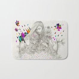 ECHOES by Peter Striffolino and Kris Tate Bath Mat