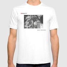 #15 - El hecho de Calamaro MEDIUM White Mens Fitted Tee