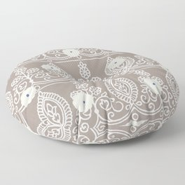 Gypsy Lace in Neutral Floor Pillow