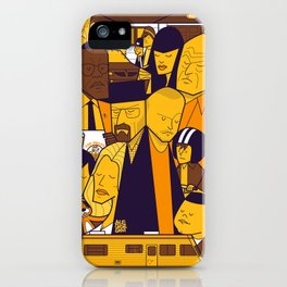 Breaking Bad (yellow version) iPhone Case
