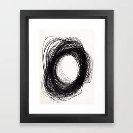 power of lines Framed Art Print