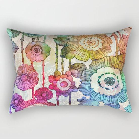 Hanging Flower Garland #2 Rectangular Pillow