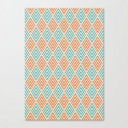 Citronique Series: Forêt Melon Canvas Print
