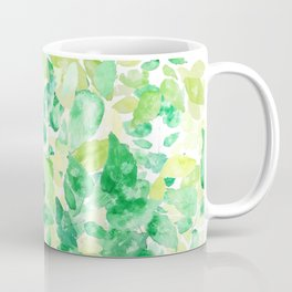 green leaves under sunlight Coffee Mug