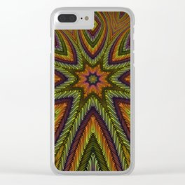 Kaleidoscopic vol. I: The Three-Eyed Golden Octopus Clear iPhone Case