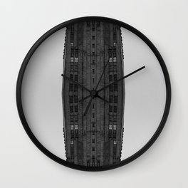 Facade I Wall Clock