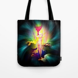 Heavenly appearance angel Tote Bag