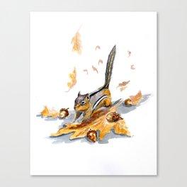 Autumn Gathering Canvas Print