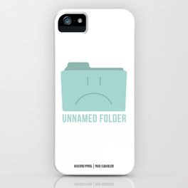 PAUSE – Unnamed Folder iPhone Case