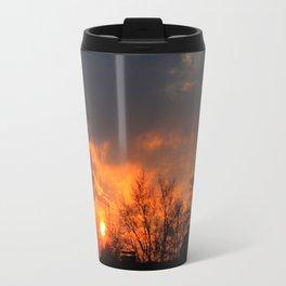 Sunset over Munich Travel Mug
