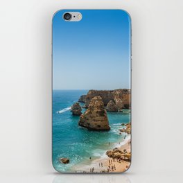 Beach at Lagoa, Algarve, Portugal iPhone Skin