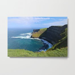 More Moher Cliffs Metal Print