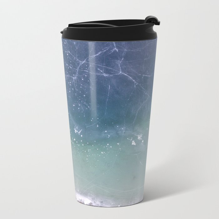 Frozen Metal Travel Mug
