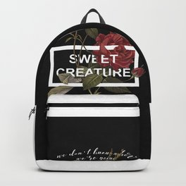 Harry Styles Sweet Creature Backpack