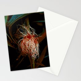 Corn Silk with Red Stationery Cards