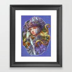 Iris Knight Framed Art Print
