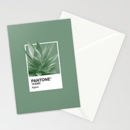 Pantone Series – Agave Stationery Cards