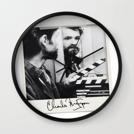 Manson Charles Signature Movie Wall Clock