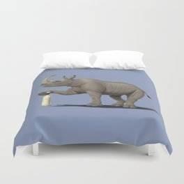 Cork it, Dürer! [HD] (Colour) Duvet Cover