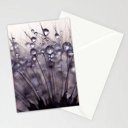 dandelion purple III Stationery Cards