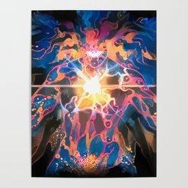 Light Monster Poster
