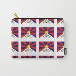 flag of thibet,བོད,tibetan,asia,china,Autonomous Region,everest,himalaya,buddhism,dalai lama Carry-All Pouch