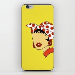 Juana - Harina Pan iPhone Skin