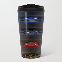Peek of the Ninja Metal Travel Mug