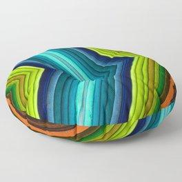 Follow the Rainbow Floor Pillow