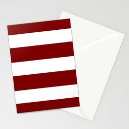 Mariniere marinière dark brown Stationery Cards